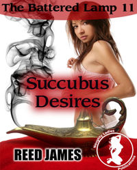 Succubus Desires eBook Cover, written by Reed James