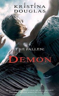 The Fallen: Demon Book Cover, written by Kristina Douglas