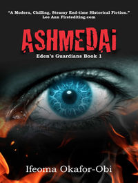 Ashmedai eBook Cover, written by Ifeoma Okafor-Obi