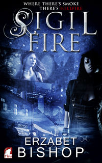 Sigil Fire eBook Cover, written by Erzabet Bishop
