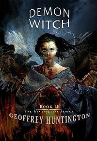 Demon Witch Book Cover, written by Geoffrey Huntington