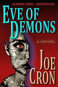Eve of Demons Book Cover, written by Joe Cron