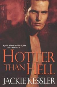 Hotter than Hell Book Cover, written by Jackie Kessler