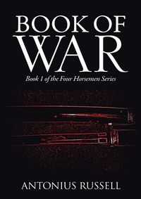 Book Of War Book Cover, written by Antonius Russell