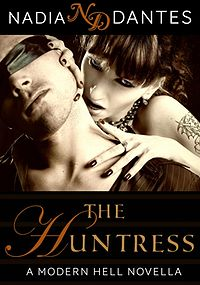 The Huntress: An Erotic Horror Novella eBook Cover, written by Nadia Dantes