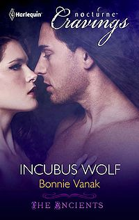 Incubus Wolf eBook Cover, written by Bonnie Vanak