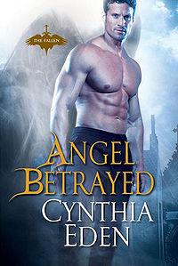 Angel Betrayed Book Cover, written by Cynthia Eden