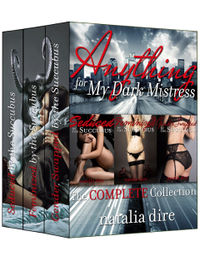 Anything for My Dark Mistress eBook Cover, written by Natalia Dire