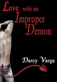 Love with an Improper Demon eBook Cover, written by Darcy Varga