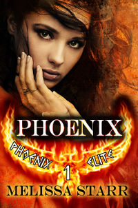Phoenix eBook Cover, written by Melissa Starr