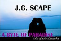 A Byte of Paradise eBook Cover, written by J.G. Scape