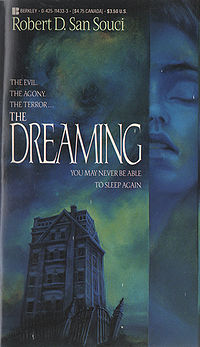 The Dreaming Book Cover, written by Robert S. Souci