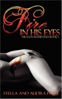 Fire In His Eyes Book Cover, written by Stella Price and Audra Price