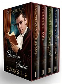Damon Snow Boxset: Books 1-4 eBook Cover, written by Olivia Helling