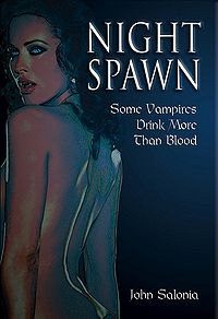 Night Spawn eBook Cover, written by John Salonia