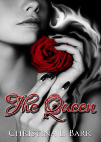 The Queen Book Cover, written by Christina Barr