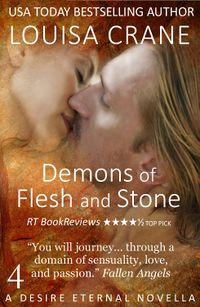 Demons of Flesh and Stone eBook Cover, written by Louisa Crane
