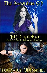 The Telepathic Clans Saga: Books 1 and 2 eBook Cover, written by B. R. Kingsolver
