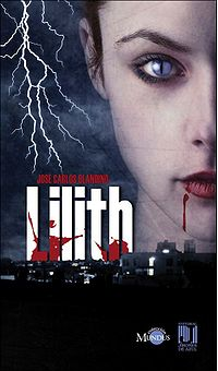 Lilith Book Cover, written by José Carlos Blandino