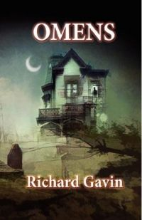 Omens Book Cover, written by Richard Gavin