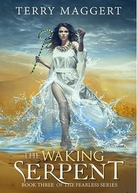 The Waking Serpent eBook Cover, written by Terry Maggert