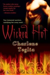 Wicked Hot Book Cover, written by Charlene Teglia