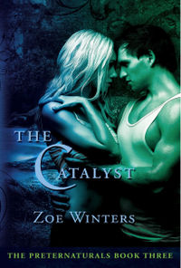 The Catalyst Book Cover, written by Zoe Winters