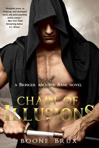 Chain of Illusions Book Cover, written by Boone Brux