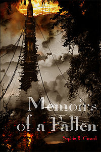 Memoirs of a Fallen Book Cover, written by Sophie Girard