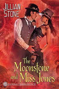 The Moonstone and Miss Jones eBook Cover, written by Jillian Stone