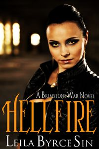 Hellfire eBook Cover, written by Leila Bryce Sin