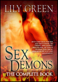 Sex Demons: The Complete Book eBook Cover, written by Lily Green