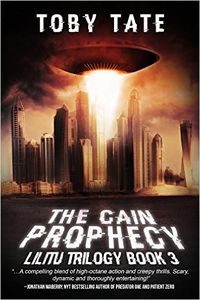 The Cain Prophecy eBook Cover, written by Toby Tate