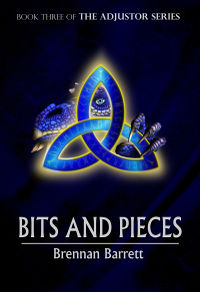 Bits and Pieces eBook Cover, written by Brennan Barrett
