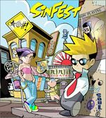 Cover of first Sinfest anthology