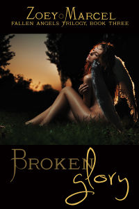Broken Glory eBook Cover, written by Zoey Marcel