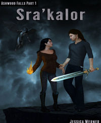 Sra'kalor eBook Cover, written by Jessica Werner
