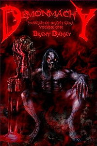 Demonmachy: Demonic Apocalypse eBook Cover, written by Brant Danay