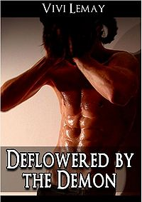 Deflowered by the Demon eBook Cover, written by Vivi Lemay
