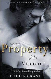 Property of the Viscount eBook Cover, written by Louisa Crane