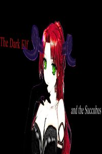 The Succubus and The Dark Elf eBook Cover, written by Dou7g and Amanda Lash