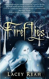 Fireflies Book Cover, written by Lacey Reah