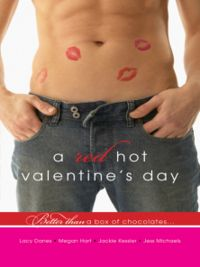 A Red Hot Valentine's Day Book Cover, written by Jess Michaels, Lacy Danes, Megan Hart and Jackie Kessler