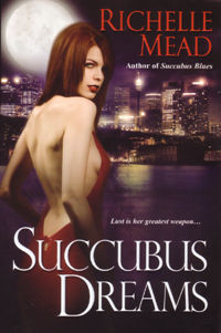 Succubus Dreams Original Book Cover, written by Richelle Mead