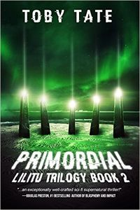 Primordial eBook Cover, written by Toby Tate