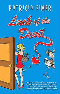 Luck of the Devil Book Cover, written by Patricia Elmer