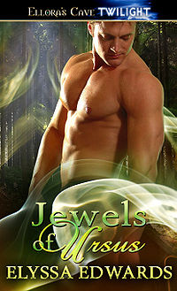 Jewels of Ursus Book Cover, written by Elyssa Edwards