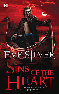 Sins of the Heart Book Cover, written by Eve Silver