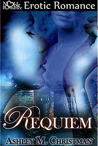 Requiem Book Cover, written by Ashley M. Christman