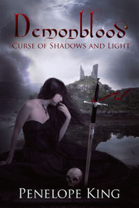 Curse of Shadows and Light eBook Cover, written by Penelope King